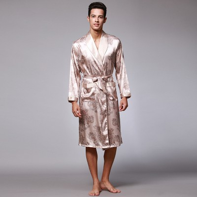cd5e0f49c1e Satin   Flannel Robes for Men with High Quality - Robesbuy.com